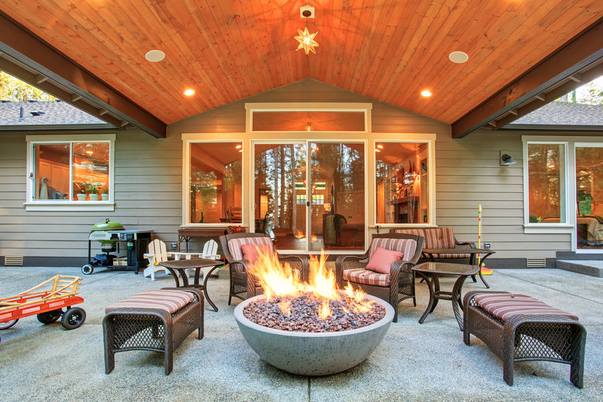 fire pits in Denver