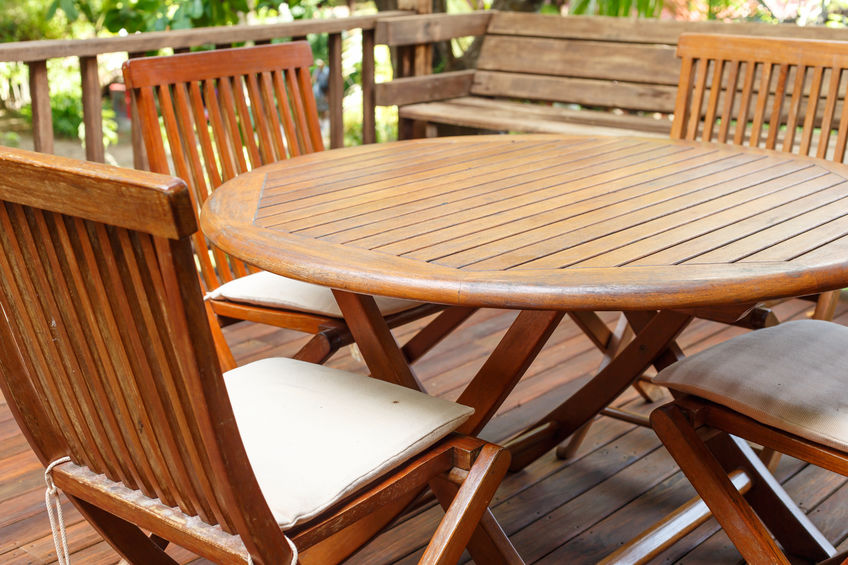 wooden outdoor furniture Denver retailers