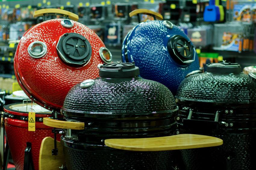 luxury outdoor grills like the Big Green Egg