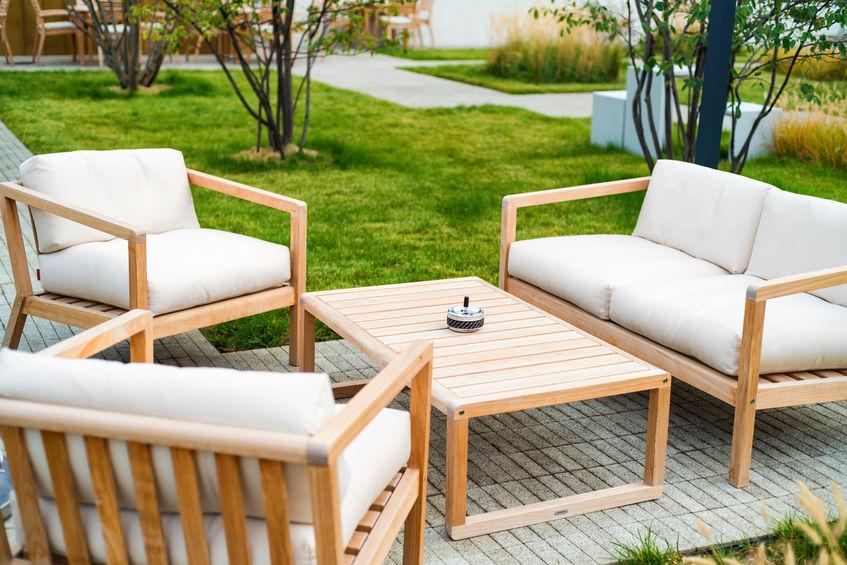 wooden outdoor patio furniture Denver